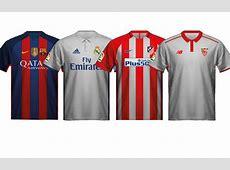 Así son las nuevas camisetas de los equipos de LaLiga