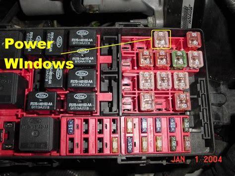 power window fusecircuit breaker fonline forums