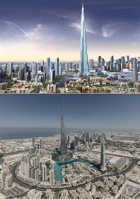 burj khalifa top views