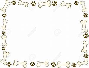 Dog Bone Frames Clipart