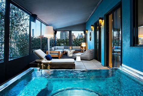 new york hotel with tub hotel rooms new york city the hotel new york