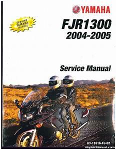 2004  U2013 2005 Yamaha Fjr1300 Motorcycle Service Manual