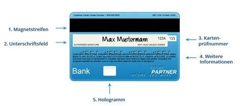 steht wo auf der kreditkarte