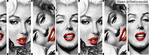 Pin Pin Gangster Marilyn Monroe Facebook Cover Free ...