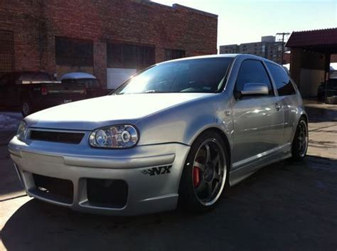 Modified Silver Cars by Sell Used 2003 Vw Gti Vr6 Turbo Silver Hatchback