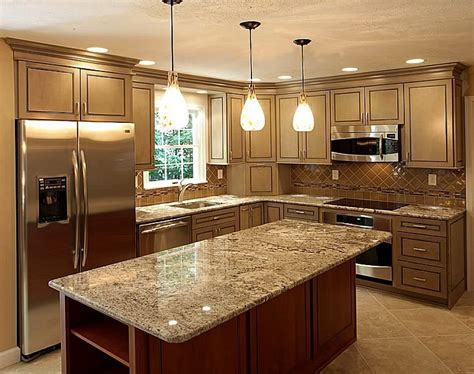 kitchen designs photo gallery light colored kitchen cabinets countertops quartz 4670