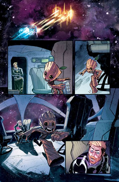 I The by I Am Groot 1 Preview Comics News