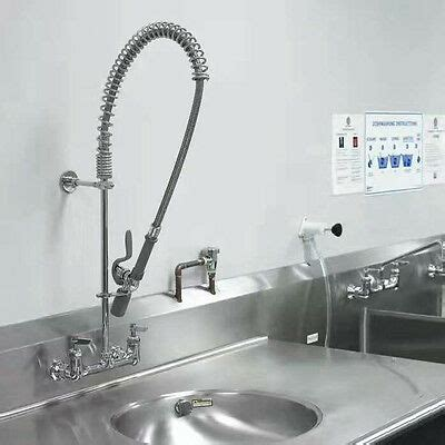 Industrial Sink Faucet by New Commercial Kitchen Restaurant Sink Tap Pre Rinse