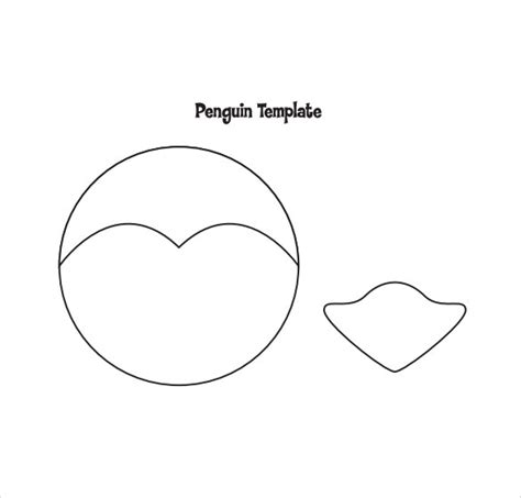 penguin craft template 11 amazing penguin templates to sle templates