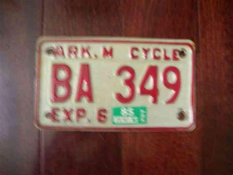 1934 Arkansas License Plate 10 177
