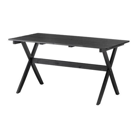 ikea table exterieur 196 ngs 214 table ext 233 rieur teint 233 brun noir ikea