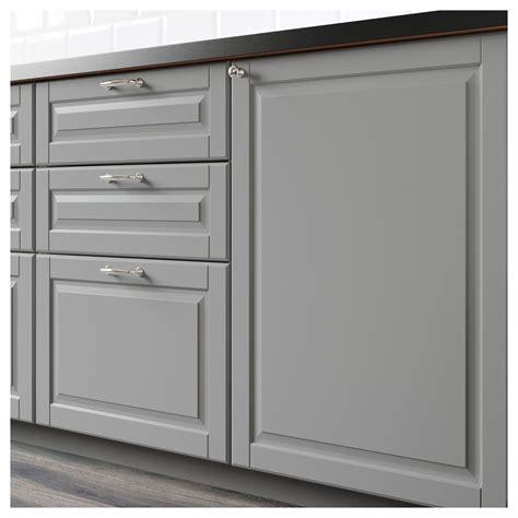 fa軋de de cuisine ikea bodbyn de tiroir gris 40x10 cm ikea