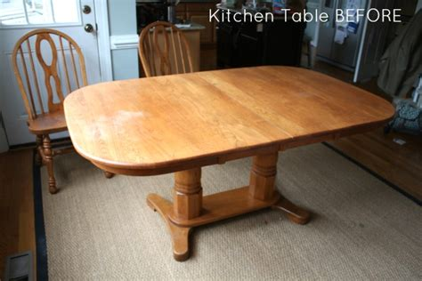 how to refinish a table top without stripping refinishing table top brokeasshome com
