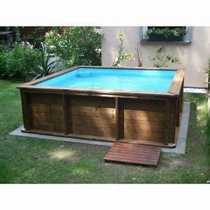 Mini Whirlpool Balkon : mini holzpool mit poolabdeckung 2 x 2 m holzpool ~ Watch28wear.com Haus und Dekorationen
