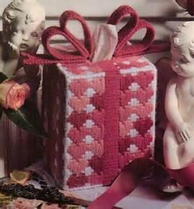 Plastic Canvas Valentine Box