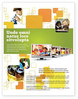 Computer Science Flyer Editible Template by Kids Computer Flyer Template Background In Microsoft Word