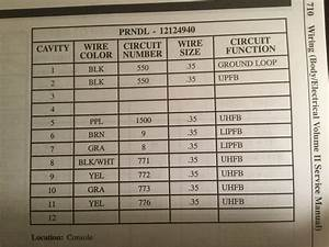 2002-2003 L200 Shift Indicator Lights Wiring Diagram - Saturn Forum