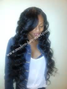 Short Sew in Weave Hairstyles for Black Women