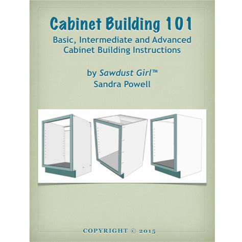 cabinet building   book sawdust girl