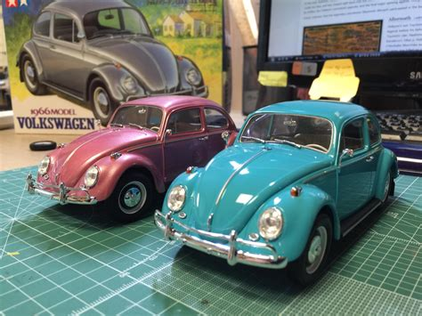 volkswagen tamiya tamiya 1966 vw 1300 beetle under glass model cars
