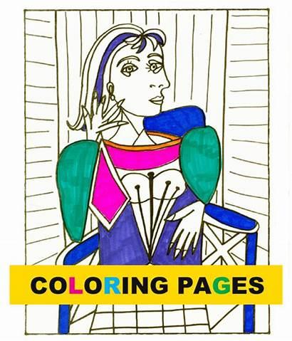 Picasso Coloring Space Bundle Deep Sparkle Dora