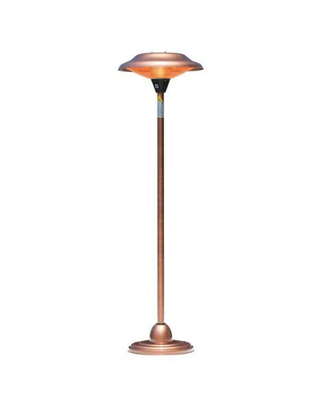 sense floor standing copper finish halogen