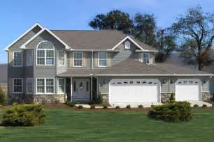 two story homes featured two story home plan ashland