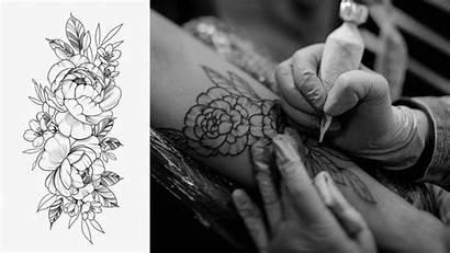Tattoo Pointillism Botanical Course Domestika Tattoos
