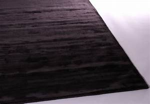 tapis gris fonce aux velours fins marius With tapis velours gris