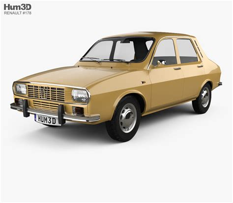 Renault Model by Renault 12 1969 3d Model Vehicles On Hum3d