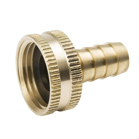 garden hose connectors b k 3 4 in threaded barb x garden hose adapter fitting at