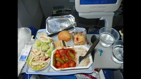 Hd Continental Airlines 777 Food Service Hkg-ewr Free