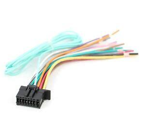 xtenzi power cord harness speaker for pioneer cdp1696 avh 270bt avh 271bt ebay