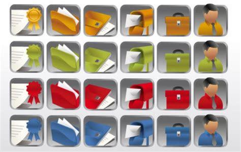icone de bureau collection d 39 icônes de bureau dossier bureau