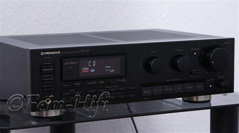Pioneer Sx777 Stereo Receiver Mit 2x 100 Watt Gebraucht