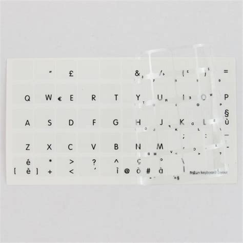 Adesivi Lettere by Tastiera Adesiva Lettere Stickers Apple Macbook Air