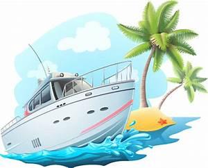 Yacht tracks clipart - Clipground