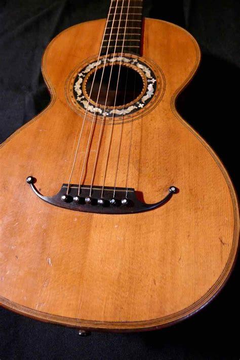 CM, Parlour Guitar, ca. 1900 | Tune Your Sound