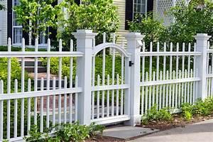 White Yard Fence Ideas Nameahulu Decor Awesome Yard
