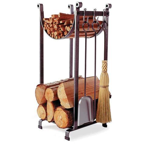 fireplace log holder enclume 174 sling fireplace log rack with tools 226490