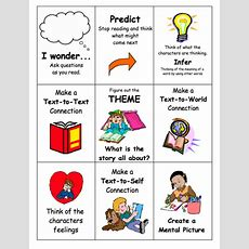 Reading Comprehension Strategies  Vandana's Eal Website