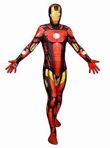 Digital Morphsuit Iron Man Full Body Costume