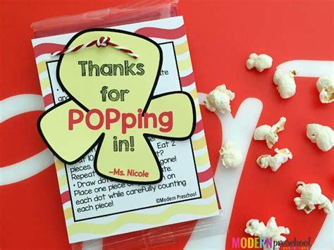 popcorn learning ideas for preschool amp kindergarten 789 | open house popcorn printable for parents3a