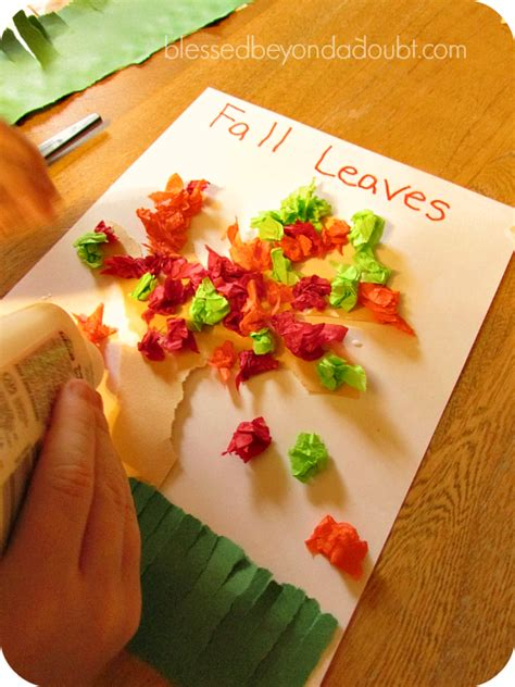 fall crafts kids love  household items