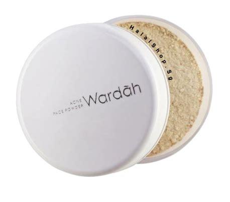 bedak powder makeover halal cosmetics singapore wardah acne powder more