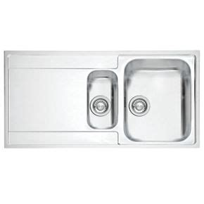 Franke Sink Fixing by Franke Inset Kitchen Sink 1 2mm Stainless Steel 1 5 Bowl