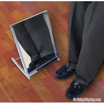 floor mirror for shoes shoe mirror footwear mirror shoe store mirror floor mirror