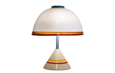 leucos lighting leucos 80 39 s table l in blown glass domus