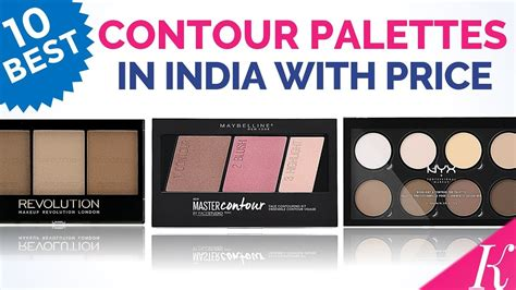 face contour palettes  india  price youtube