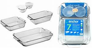 Walmart.com: Anchor Hocking 7-Piece Bakeware Set Just $9 ...